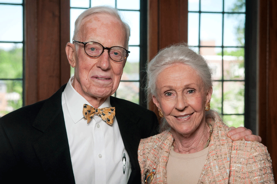 Dorothy R. McCulloch '50 and Norman E. McCulloch, Jr.