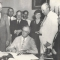 President Franklin D. Roosevelt Signs The Social Security Bill