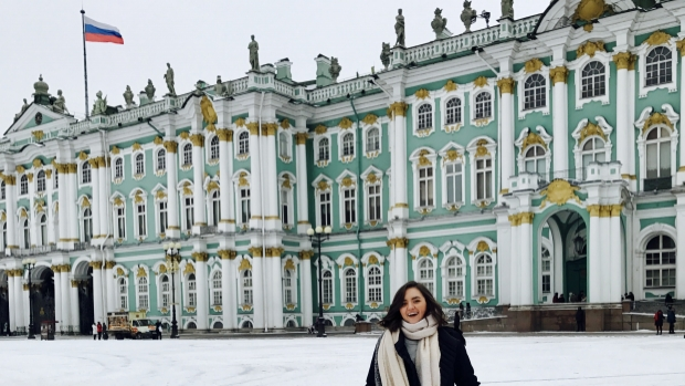 Alessandra Massa at Catherine Palace