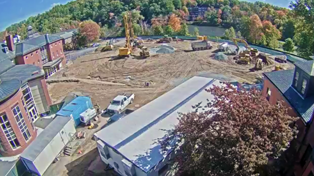 Photo of Community Center construction site