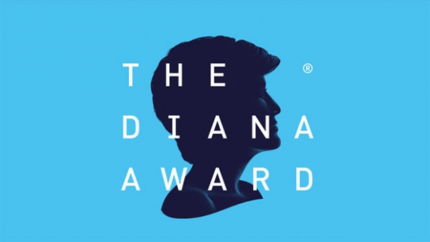 This is the logo of The Diana Award.