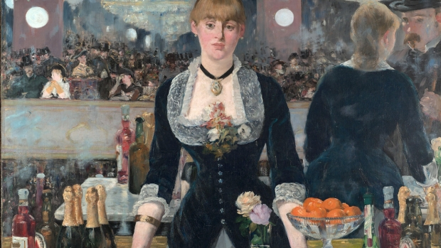 Un Bar aux Folies-Bergère, By Édouard Manet
