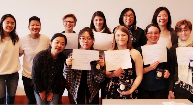 Five College Chinese Speech Contest Participants and Winners