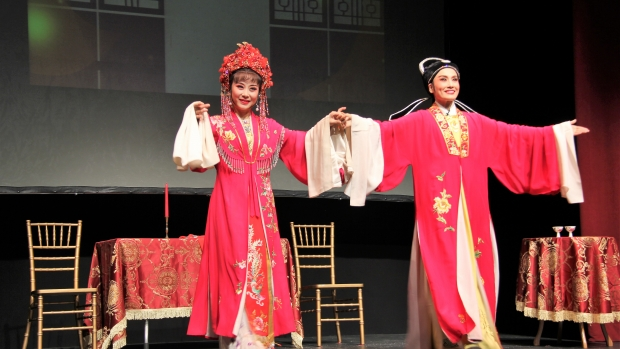 Jun'an Wang and Qi Tao of Yue Opera
