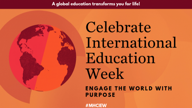 A global education transforms you for life! Engage the world with purpose. #MHCIEW