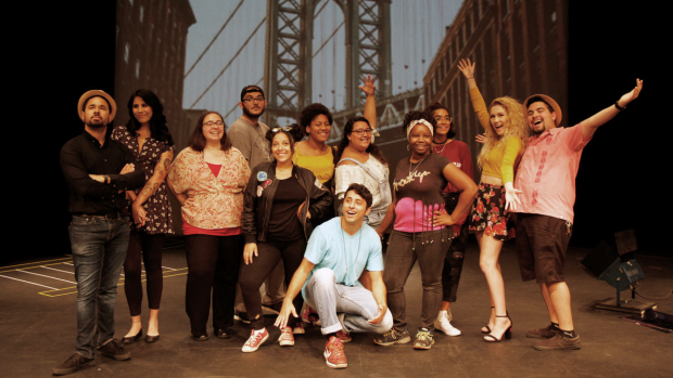 "Photo of the cast of ""In the Heights"""