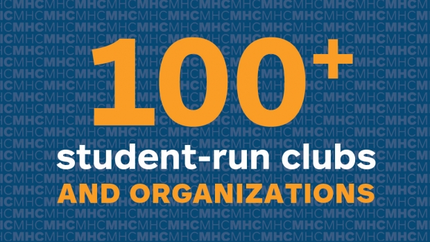 Infographic: 100+ student-run clubs and organizations