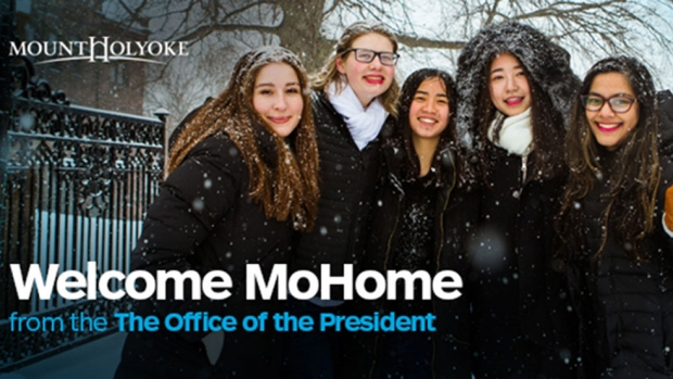 Welcome MoHome from the Office of the President