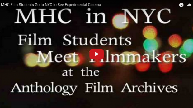 MHC Film Students Go to NYC to See Experimental Cinema