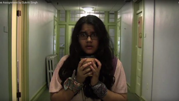 Sukriti Singh creates a film inspired by The Shining.