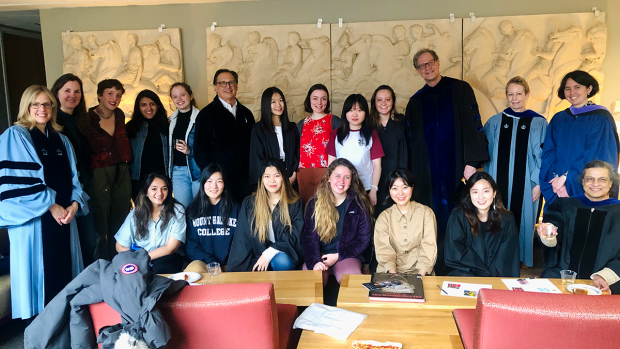 The Art History and Architectural Studies faculty planned a Senior Celebration for all graduating students on March 13, 2020.