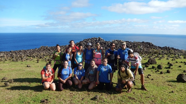 Students on Rapa Nui