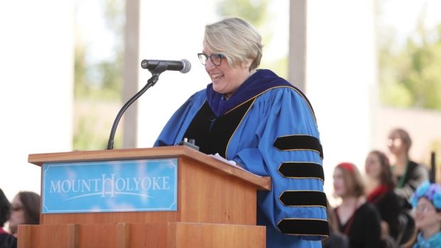 President Sonya Stephens delivers the 2019 Convocation Welcome