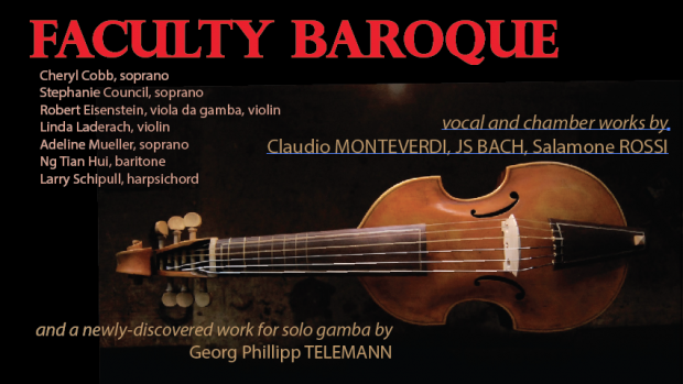 Mount Holyoke College Music Department Faculty Baroque
