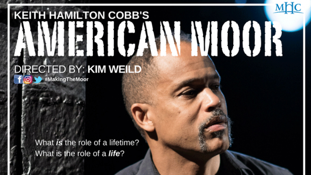 "Poster of the play ""American Moor"""