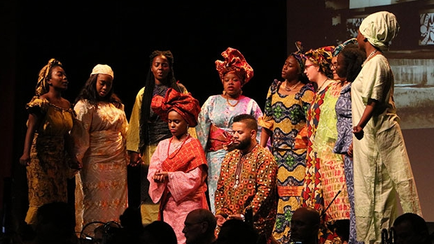 Ìrìn Àjò, an opera composed, written and directed by Five College music professor Bode Omojola