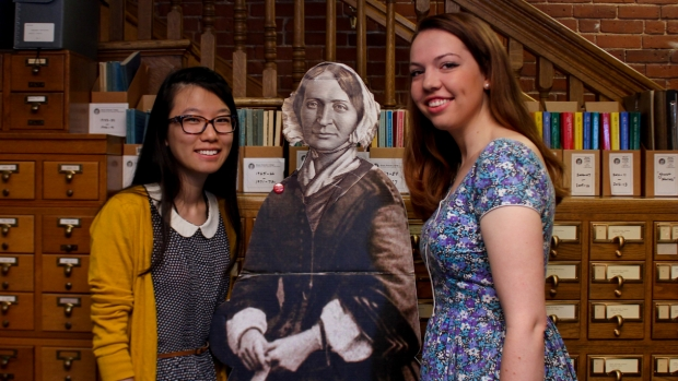 Ruilin Fan '17 and Margaret Stanne '16 spent their summer uncovering history.
