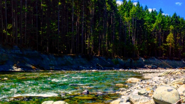 Photo of the Elwha River