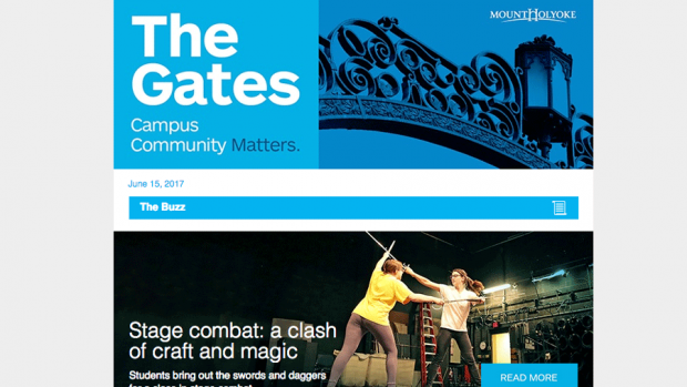 Image of the Gates newsletter