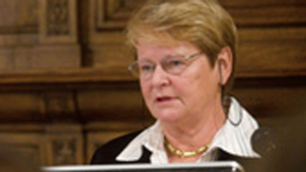 Photo of Gro Brundtland, 2005 Global Scholar-in-Residence