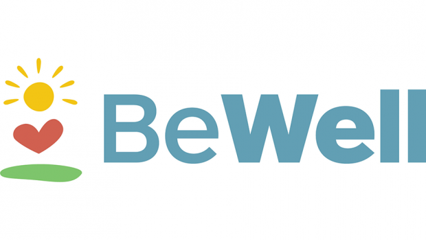 "Graphic that says ""Be Well"""