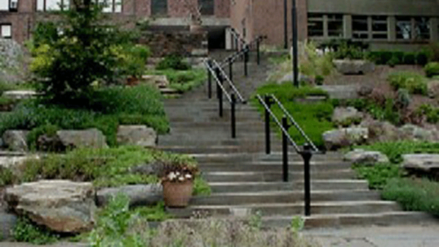 Photo of the Heckel Staircase Garden