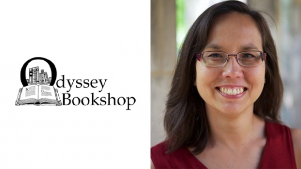"Ami Campbell '92, co-author of ""Love Let Go: Radical Generosity for the Real World,"" visits the Odyssey Bookshop on Feb 21."