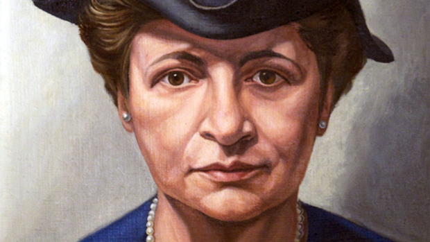 Painting of Frances Perkins