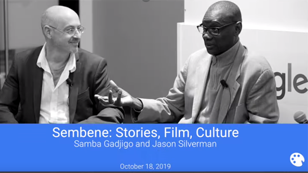 Sembene: Stories, Film, Culture | Samba Gadjigo and Jason Silverman at Google on October 18, 2019
