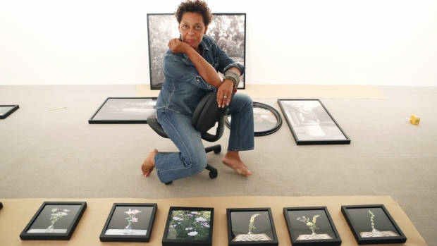Artist Carrie Mae Weems. Photo courtesy of the John D. & Catherine T. MacArthur Foundation