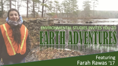 Earth Adventures: Featuring Farah Rawas '17