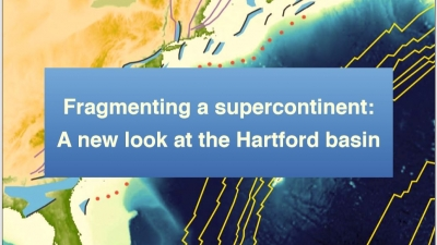 Fragmenting a supercontinent