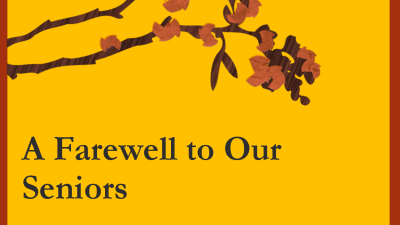 History Department Farewell to Seniors, Spring 2018