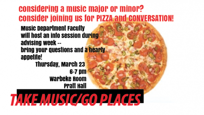 Music Department Pizza Party