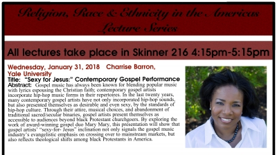 Religion, Race & Ethnicity in the Americas Lecture Series
