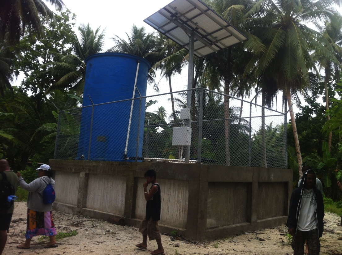 Water system in Micronesia