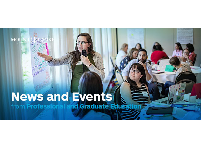 News & Events, Professional Graduate Education