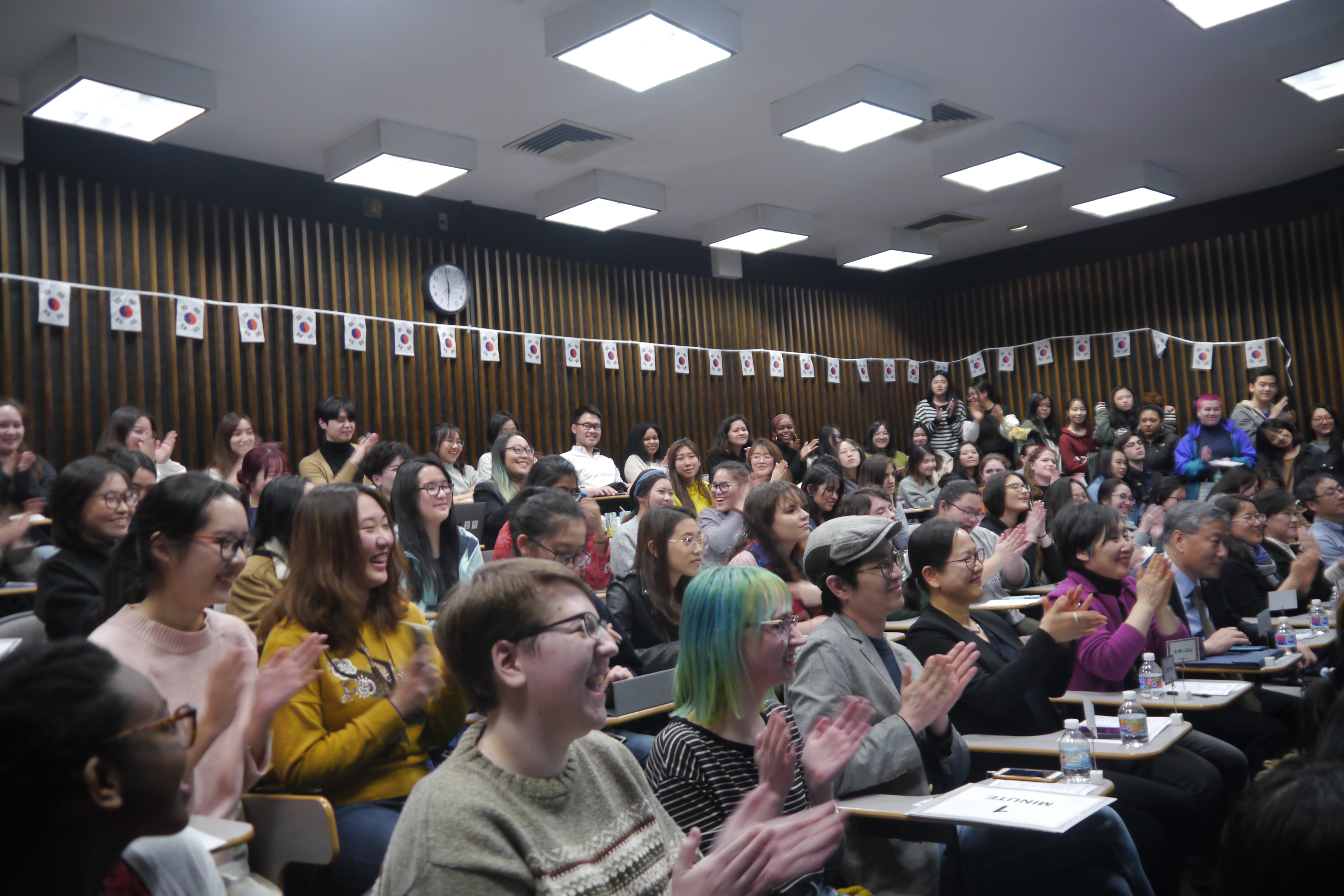 Five College Korean Contest Audience