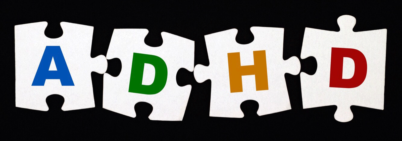 Graphic depicting four puzzles pieces with the letters A, D, H and D on them