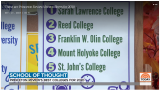 """Today"" discusses Princeton Review's list of ""Professors Get High Marks,"" where Mount Holyoke College is ranked No. 4 in the country."
