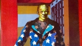This is an image of Frankenstein's monster wearing a star-spangled blazer.