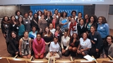 Image of attendees of 2015 Women of Color conference.