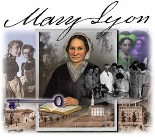 Collage of Mary Lyon and Mount Holyoke