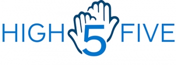 High Five Alumnae Program Logo