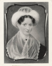 Mary Lyon ivory portrait