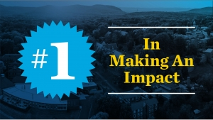 """No. 1 for """"Making an Impact"""""""