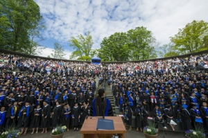 Photo of 2016 Commencement