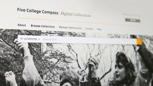 The Five College Compass is available at compass.fivecolleges.edu.