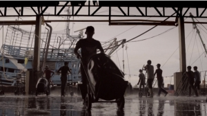 Thousands of men are forced to work as slave laborers aboard Thai fishing boats. Photo by Jeff Waldron.