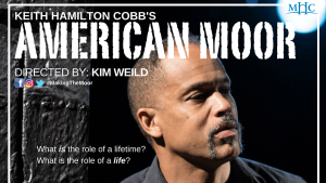 """Poster of the play """"American Moor"""""""